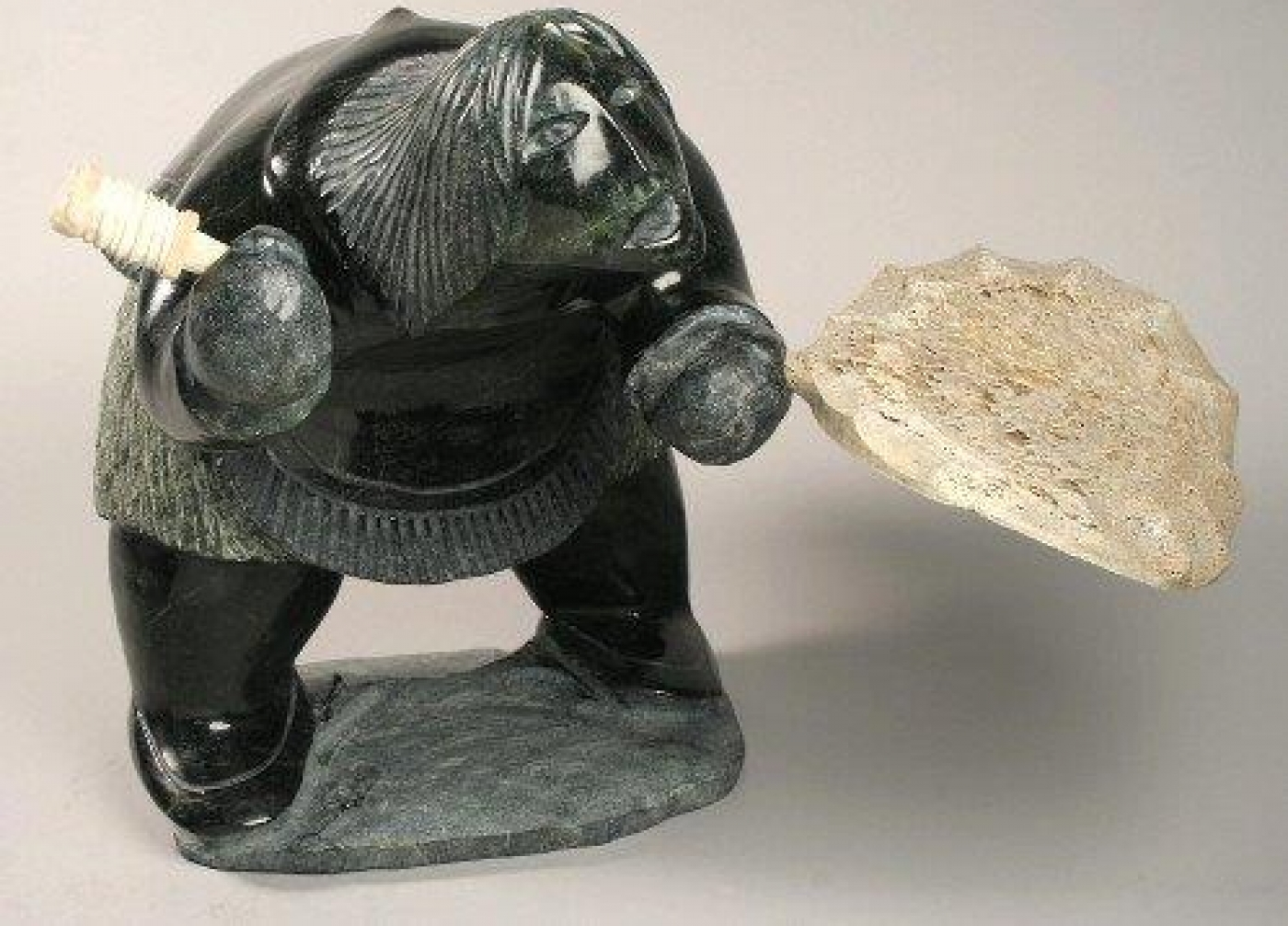 Contemporary Inuit Sculpture By Jaco