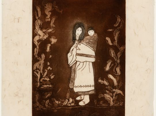 Alanis Obomsawin, Printmaker. An Artist and her Nation: The Waban-Aki Basketmakers of Odanak