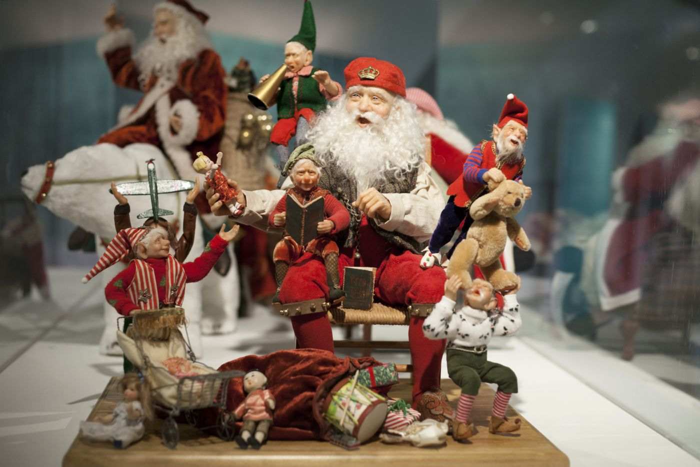 Santas are taking over the Museum